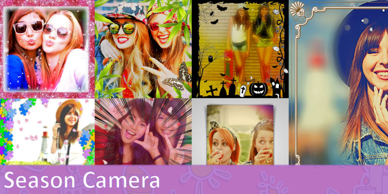Edit your photos using many filters, frames and stamps.